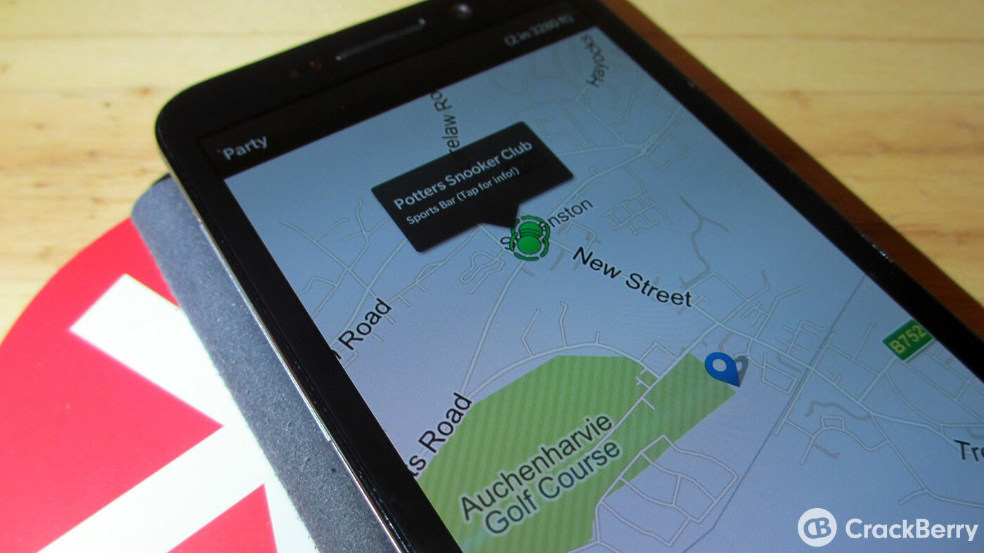 Discover new places with WhereIs...? for BlackBerry 10