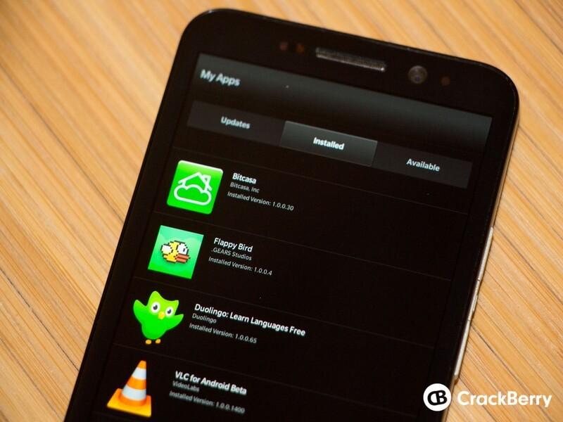 CrackBerry-tested Android Apps for BlackBerry 10 | CrackBerry com