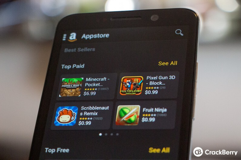 Amazon Appstore on BlackBerry 10