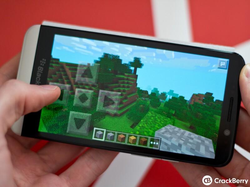 Minecraft on BlackBerry 10