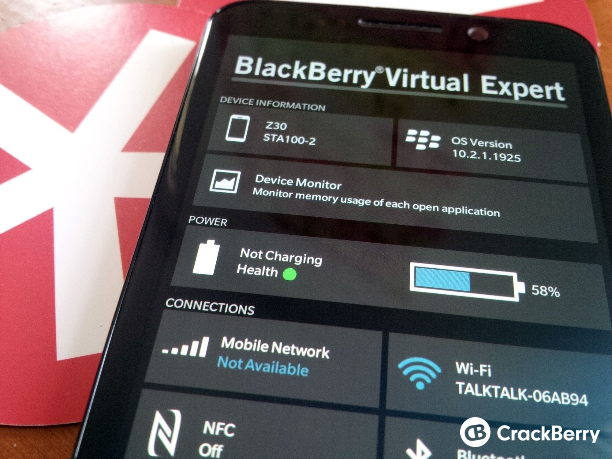 BlackBerry Virtual Expert adds sensor and connectivity tests to the list of things you can diagnose