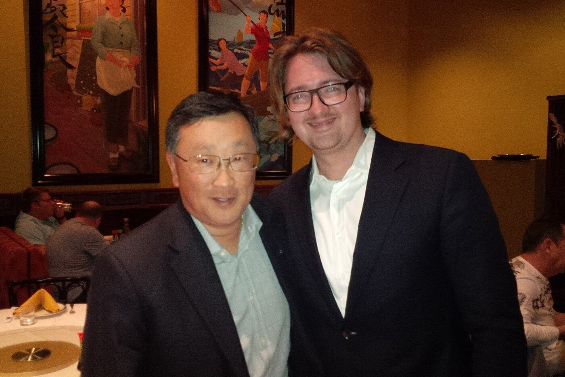 John Chen w/ CrackBerry Kevin