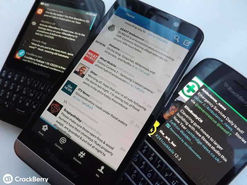 BB10 Twitter Apps