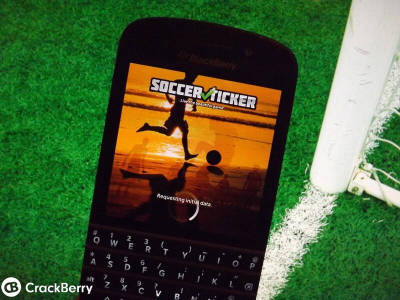 Soccer Ticker