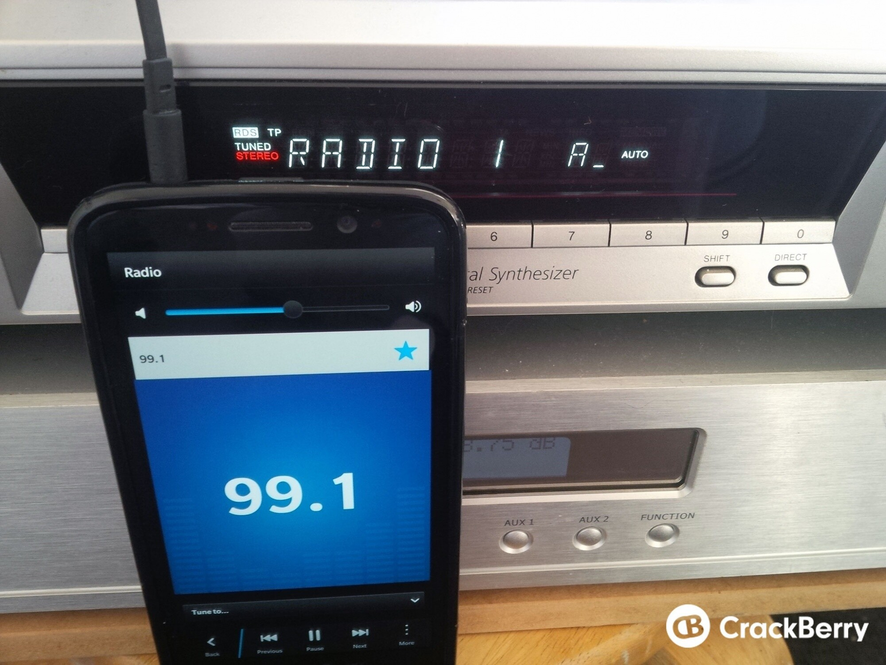 How to use the FM Radio on BlackBerry 10 | CrackBerry com
