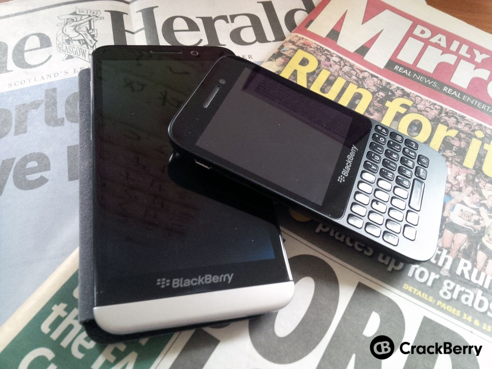 The top news apps for BlackBerry 10