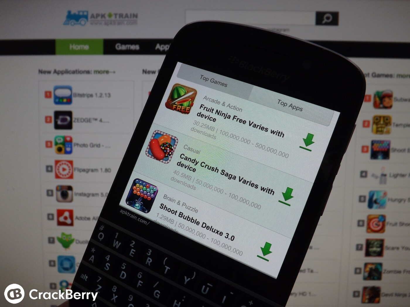 Installing Android apps on BlackBerry 10 just got easier