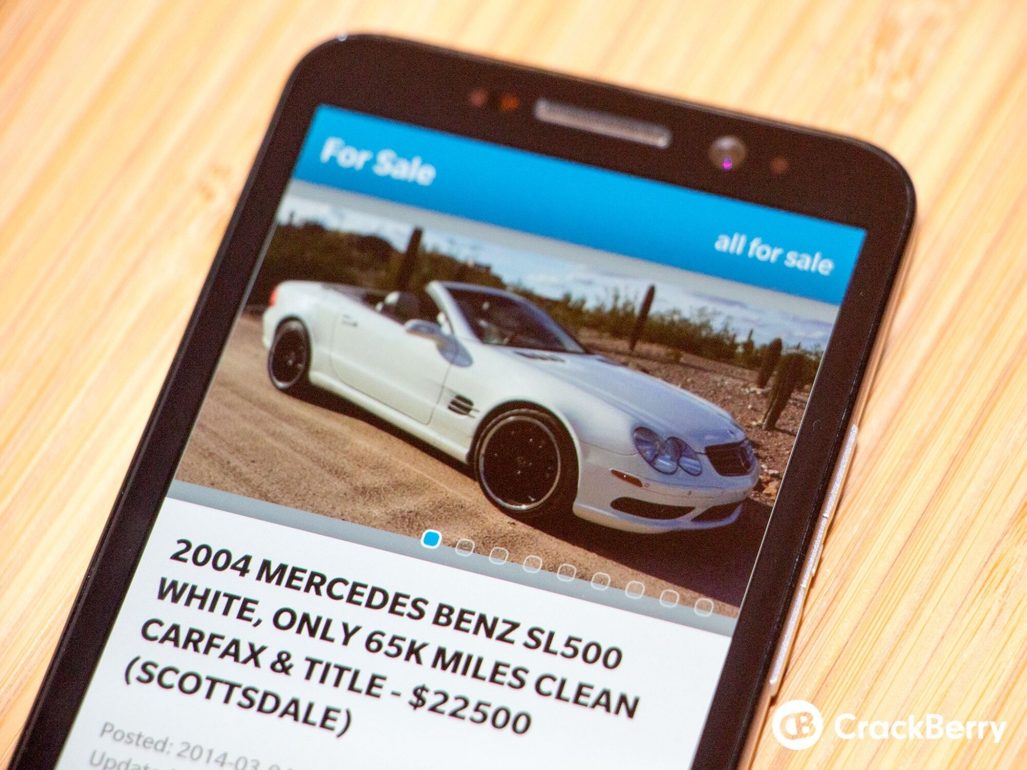 Classified Search offers easy Craigslist access to