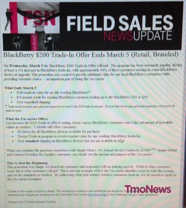 T mobile hook up promotion