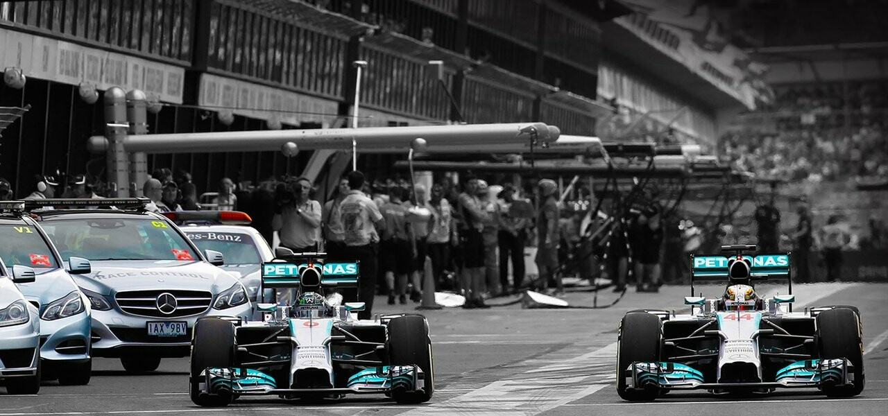 If you're getting hot and heavy with the 2014 Formula 1 season, you can now show your support with some awesome wallpapers. The official Mercedes AMG ...