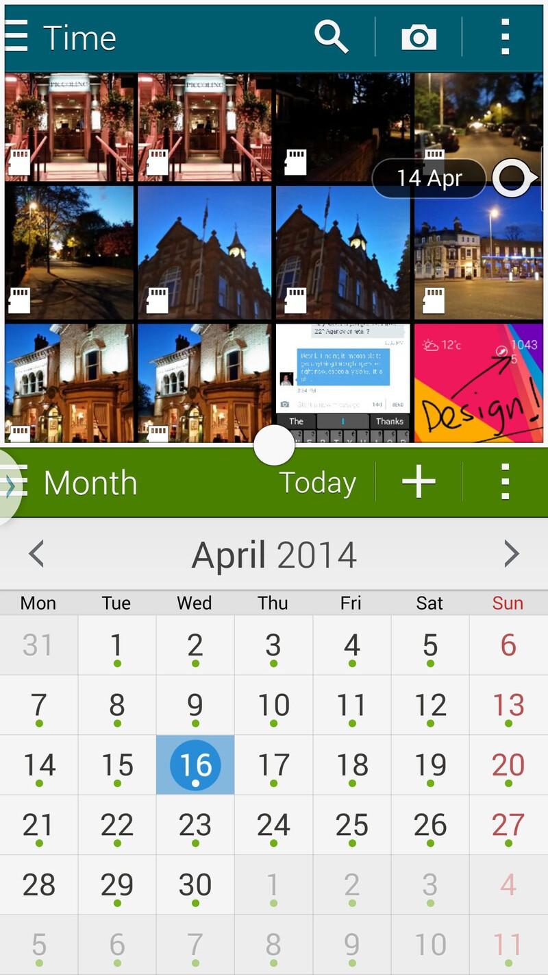 Samsung Galaxy S5 Multi Window