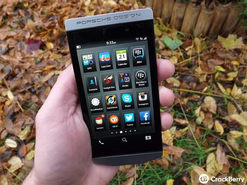 Porsche Design BlackBerry P9982