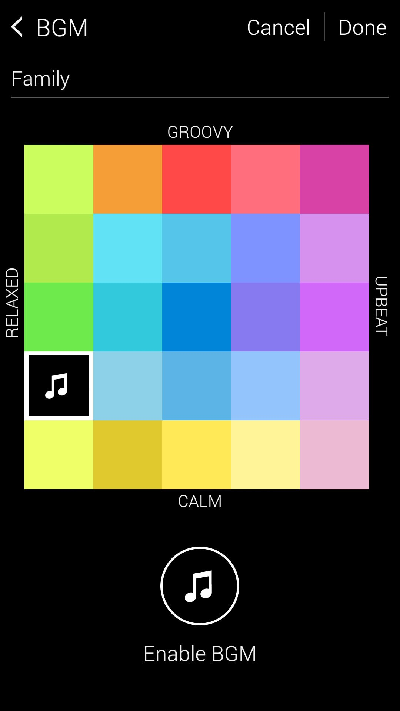 Samsung Galaxy S5 video highlights music