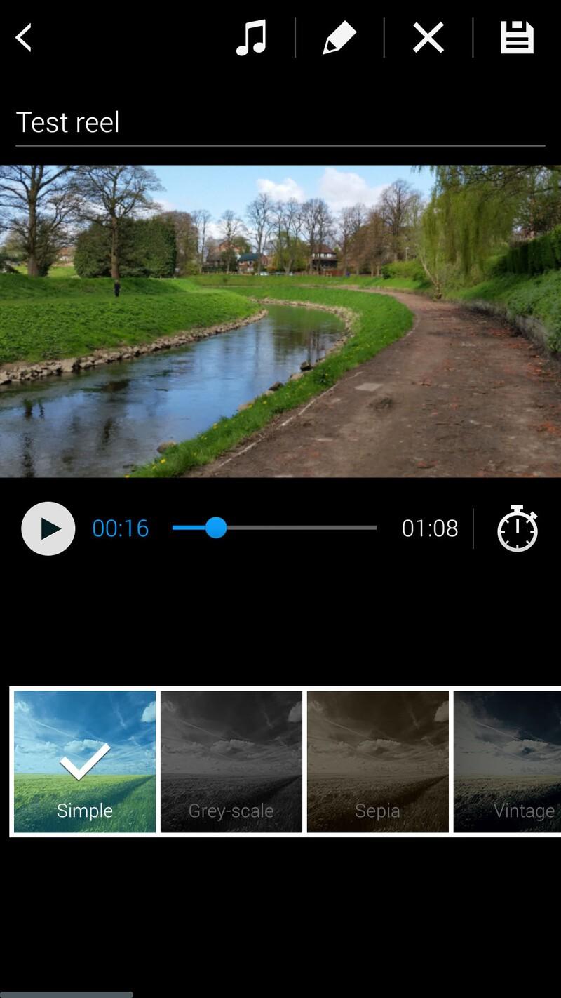 Samsung Galaxy S5 video highlights