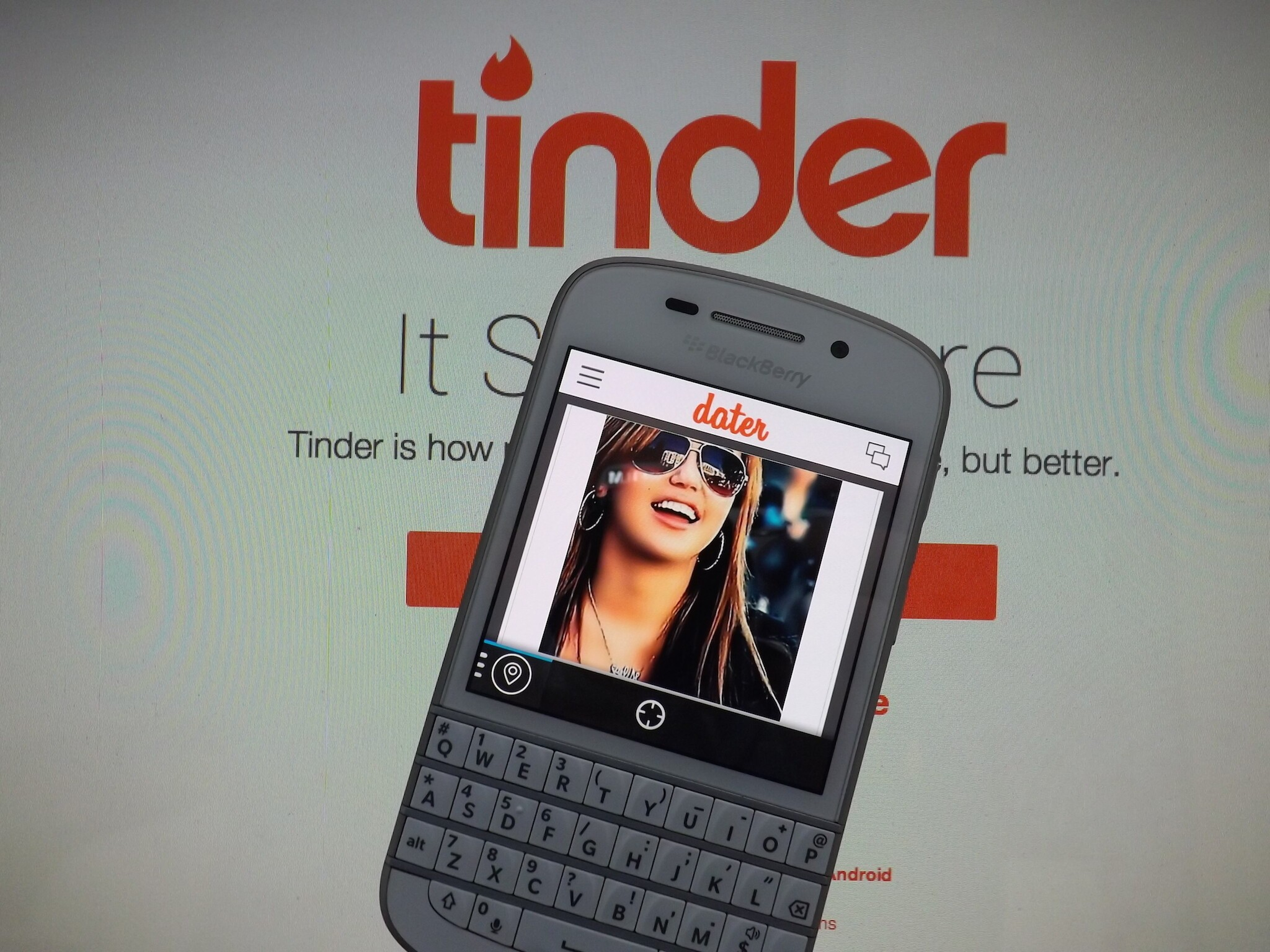 BlackBerry apps for dating