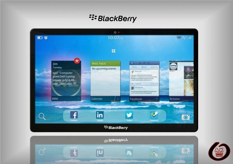 BlackBerry PlayBook 10 Concept