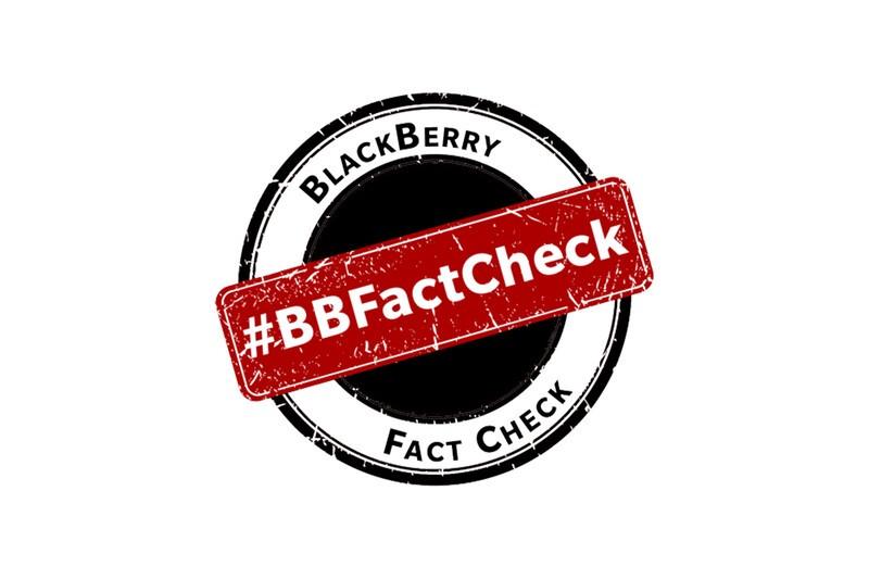 BlackBerry introduces the BlackBerry Fact Check Portal