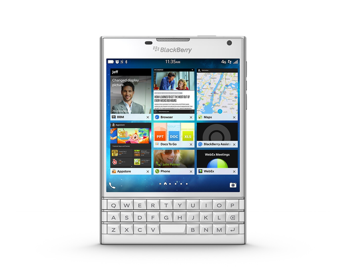 BlackBerry Q10 apps in BlackBerry World to be automatically available for the BlackBerry Passport
