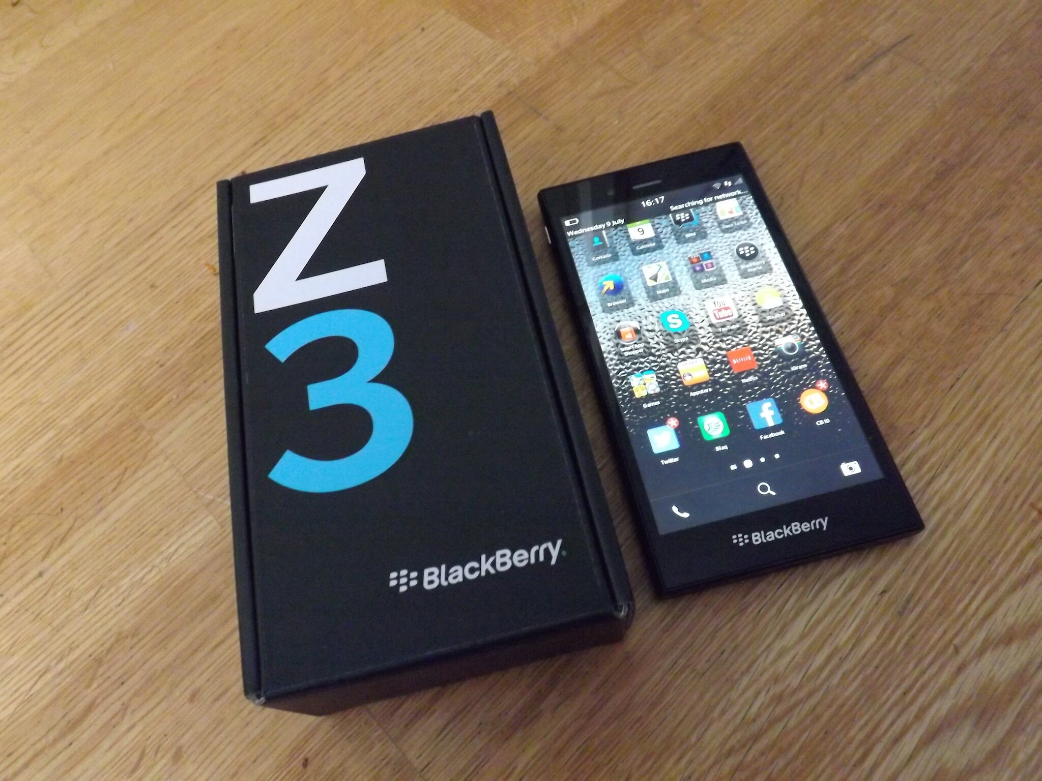 South African students are more than impressed with the BlackBerry Z3