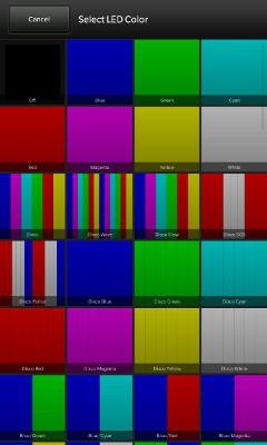 BeBuzz Colour Options