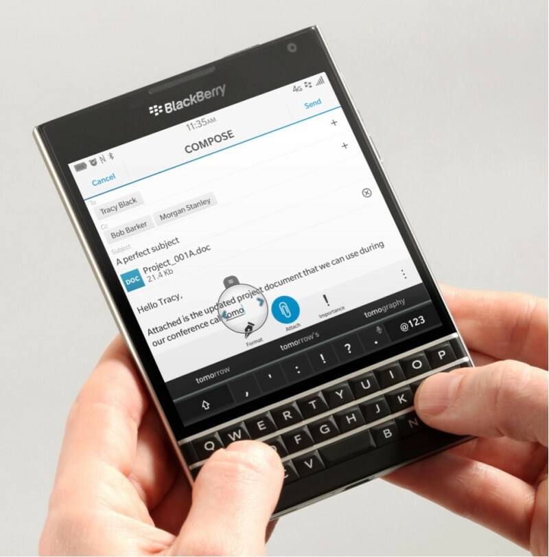 BlackBerry Passport gets caught in hands-on video and fresh images!