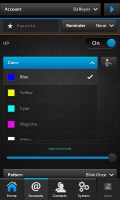 HUB++ Colour Selection