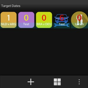Target Dates List