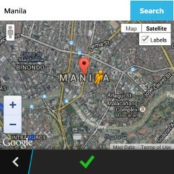 ARKick Virtual Location Map View