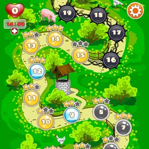 Jelly Cats Levels View