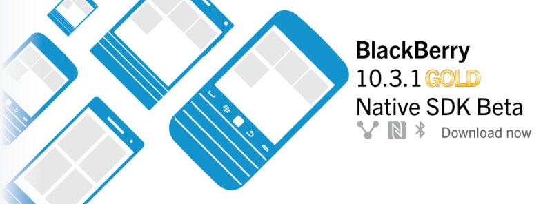 BlackBerry 10.3.1 Native SDK goes gold