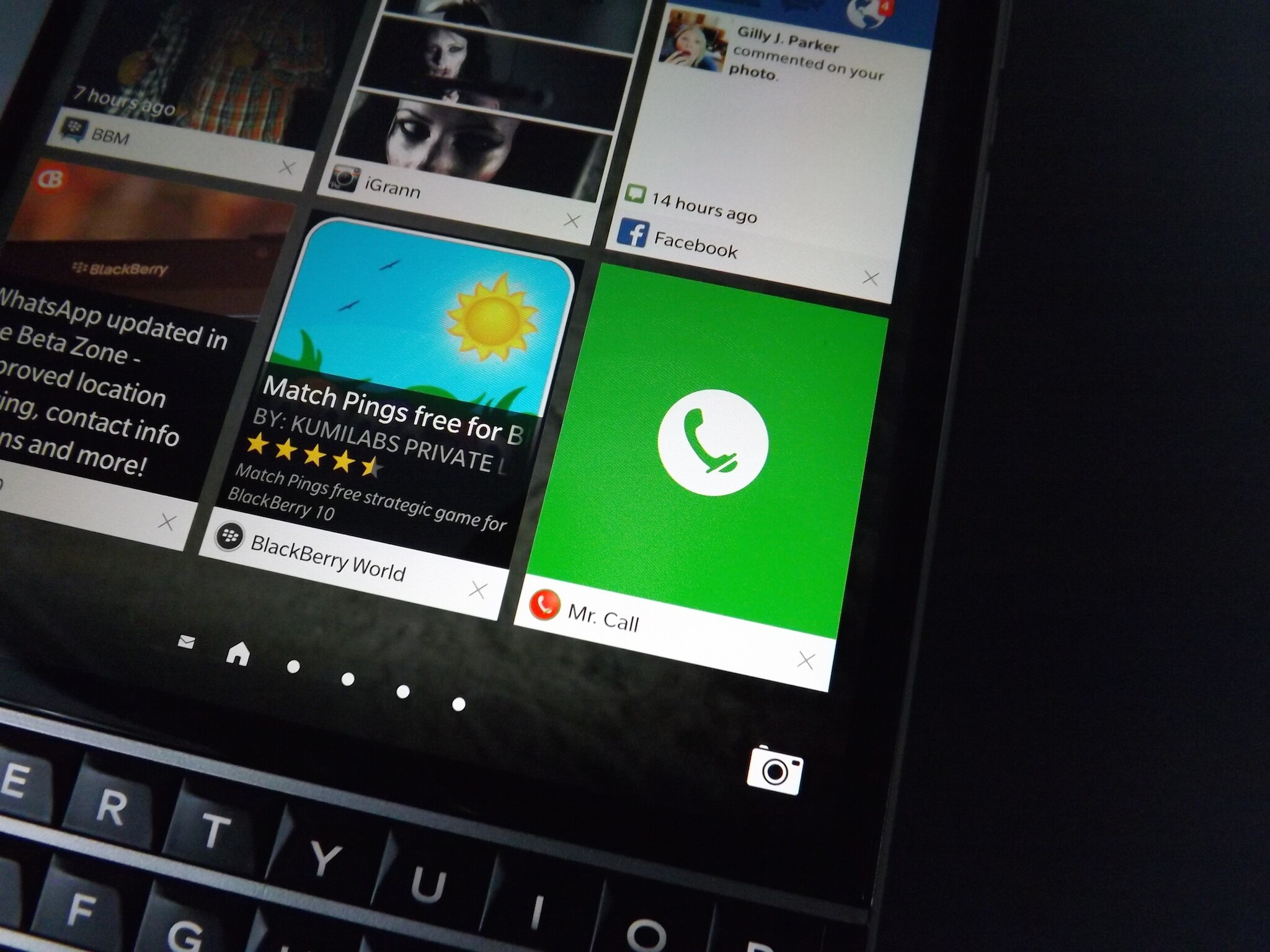 Block and record telephone conversations with Mr. Call for BlackBerry 10