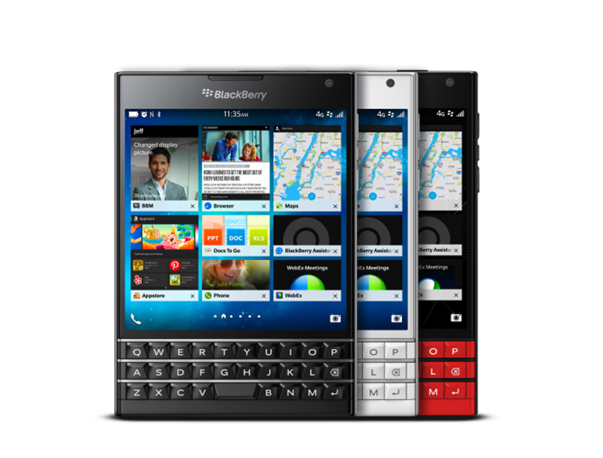 Enter now for a FREE BlackBerry Passport!