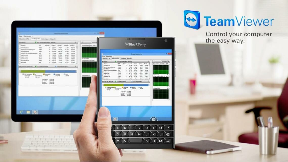 TeamViewer 10: Remote Control Beta now available in BlackBerry World