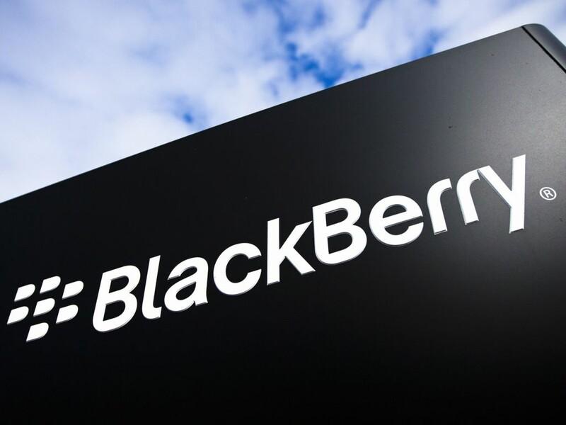BlackBerry sign in Waterloo