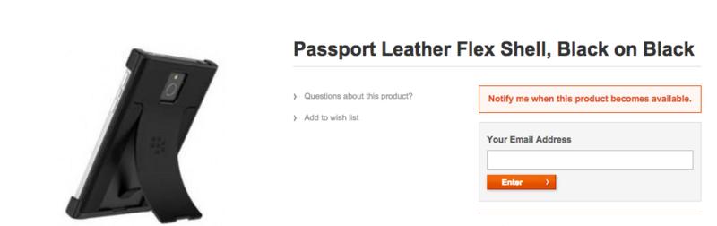 BlackBerry preparing accessories for Passport and Classic