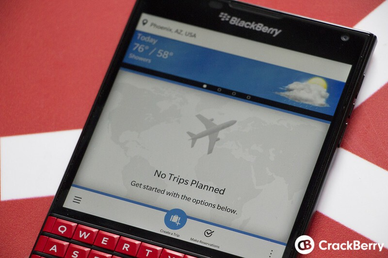 Login issues with BlackBerry Travel have now beeen resolved