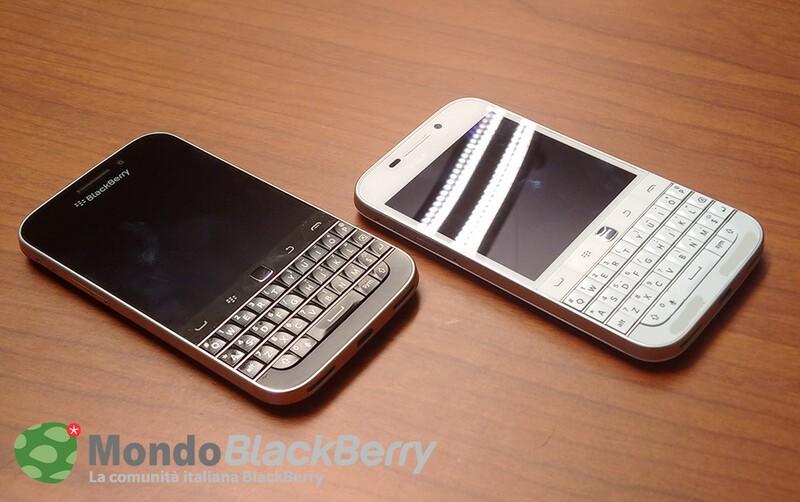 BlackBerry Classic in white