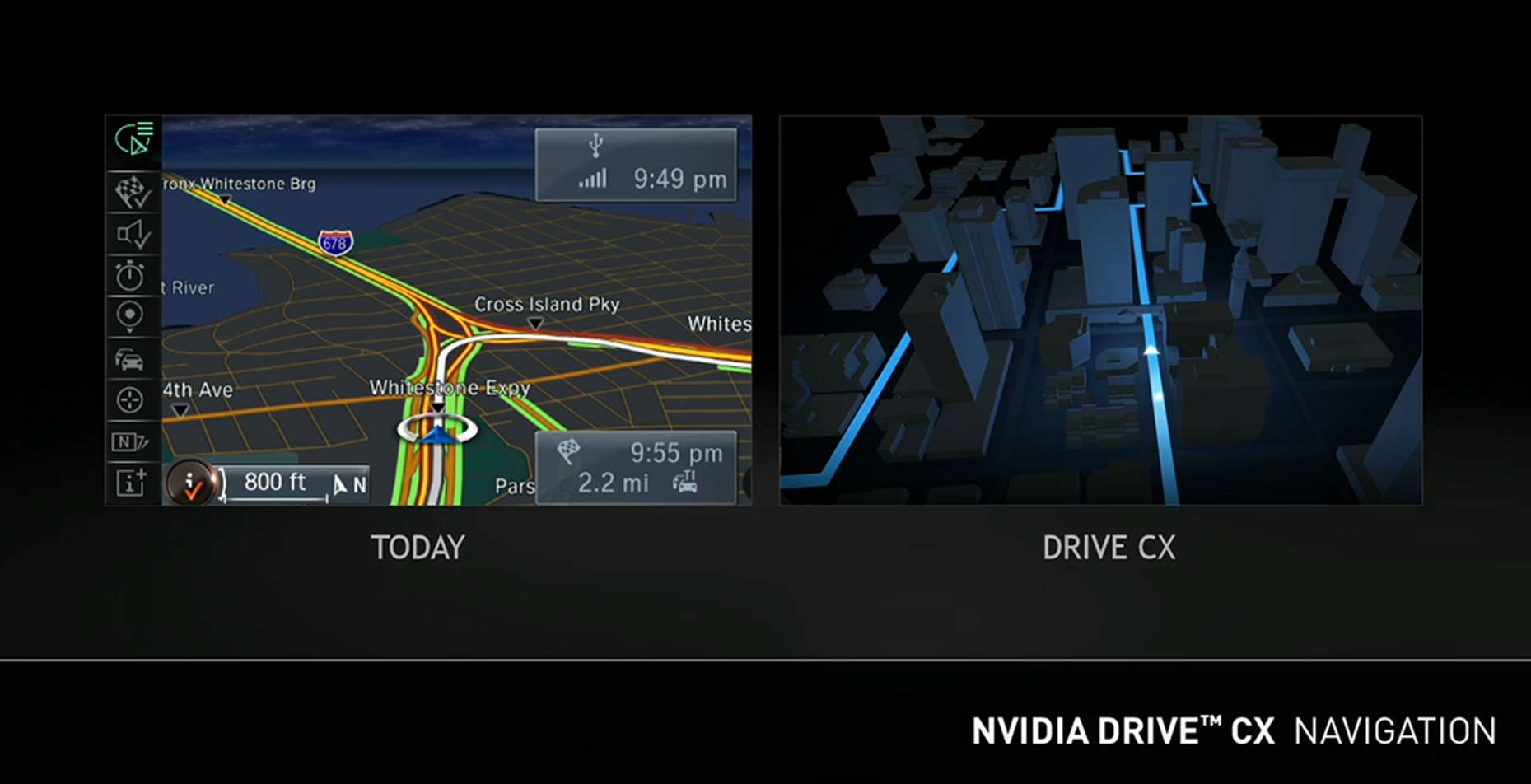 NVIDIA Drive CX is an all-new digital cockpit for your vehicle