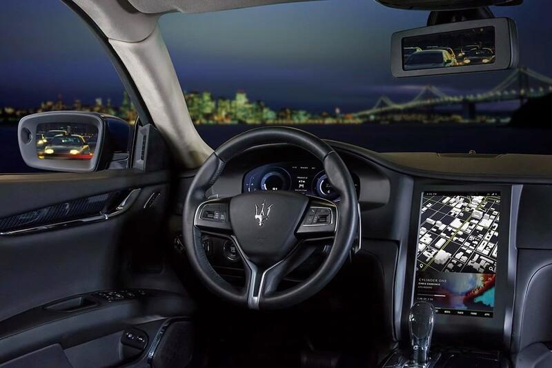 NX 2015 Maserati Quattroporte GTS concept car!