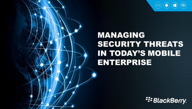 Watch the managing security threats in today's Mobile Enterprise webcast replay