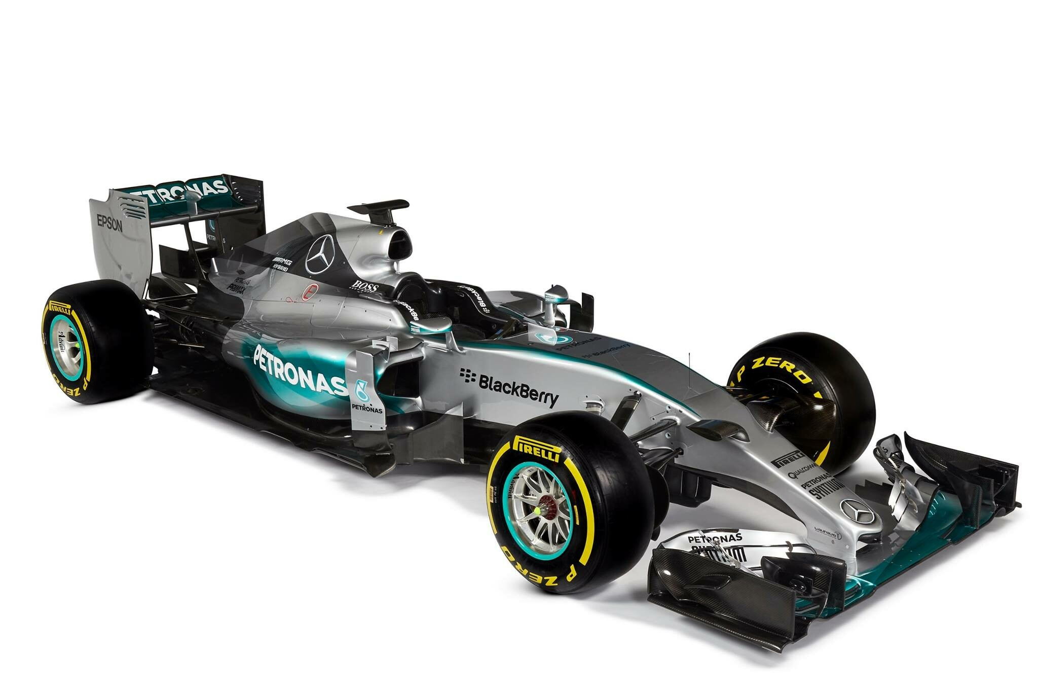 The new F1 W06 Hybrid Silver Arrow