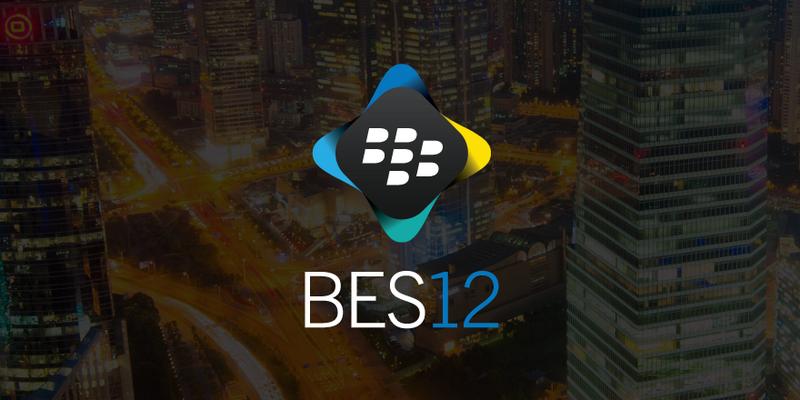 BlackBerry announces BES12 version 12.2