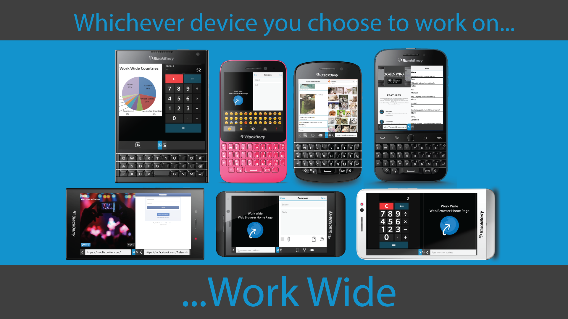 Work Wide update includes dual SMS options and improved Blaq integration