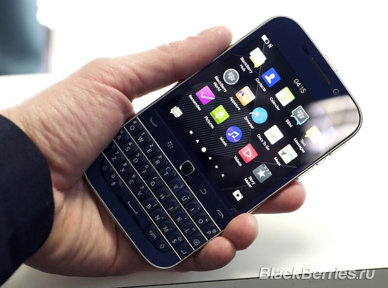 BlackBerry Classic Blue
