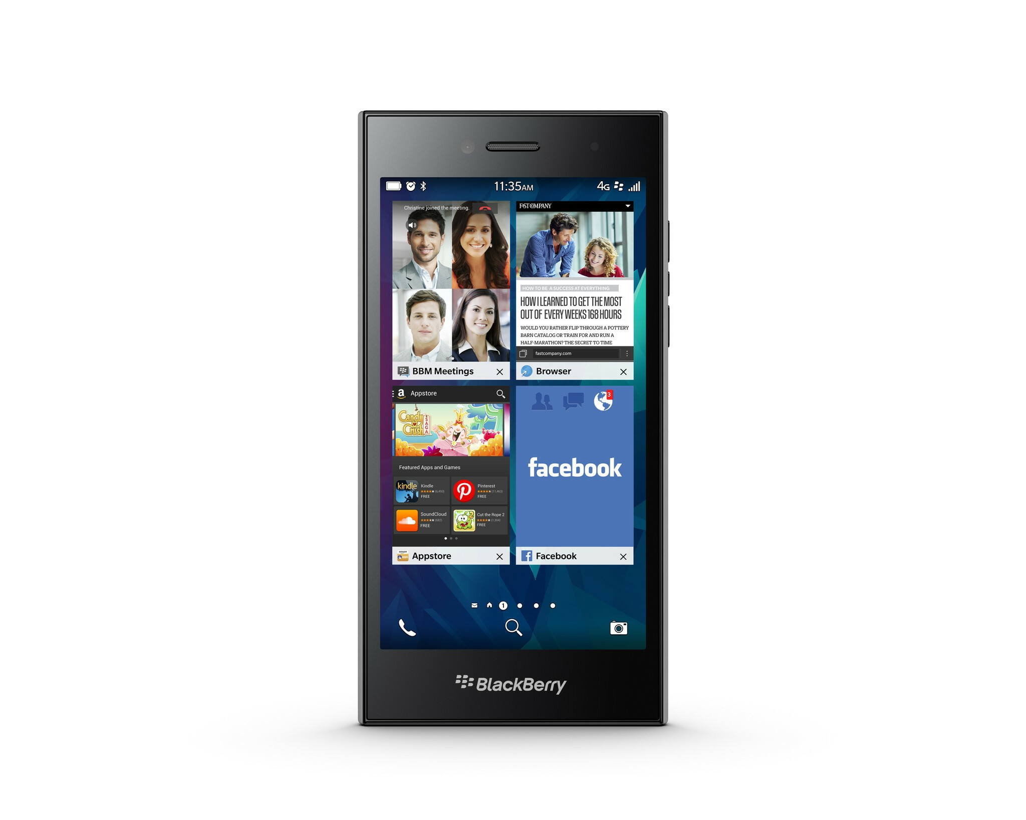 BlackBerry Leap specs and features