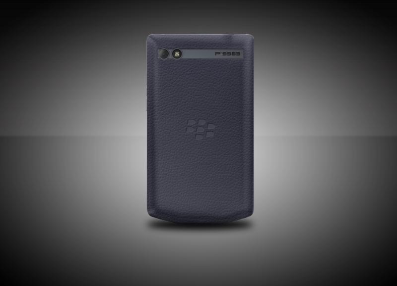 BlackBerry introduces the Porsche Design P'9983 Graphite