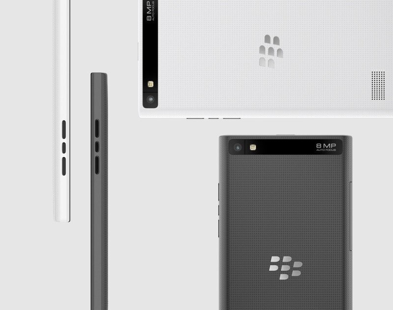 White BlackBerry Leap now available from ShopBlackBerry