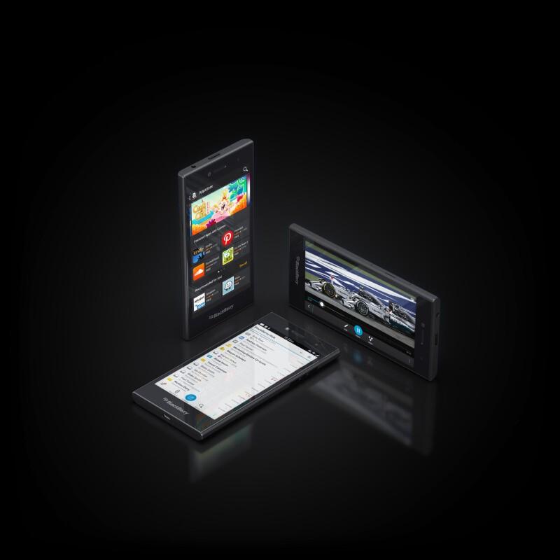 BlackBerry announces the BlackBerry Leap!