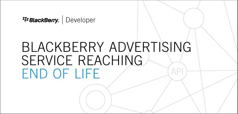 BlackBerry Advertising Service to shut down on June 16