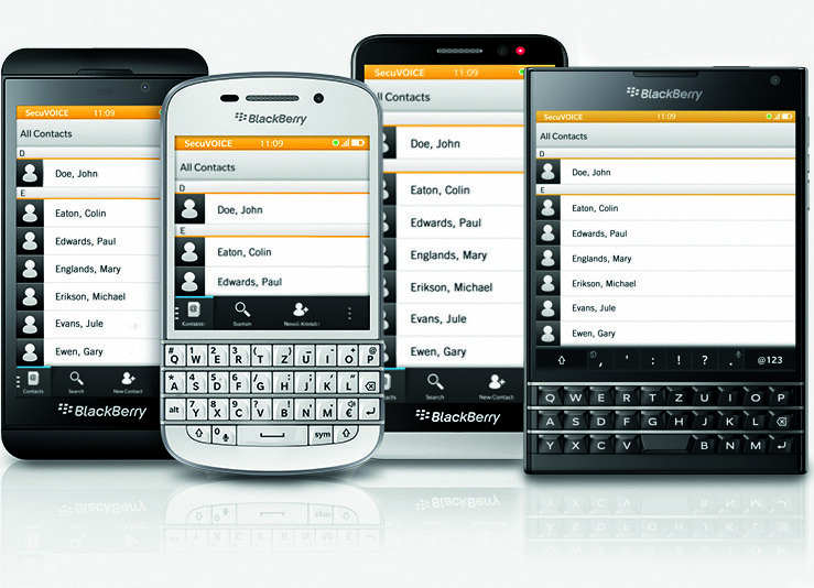 Germany SecuVOICE for BlackBerry 10